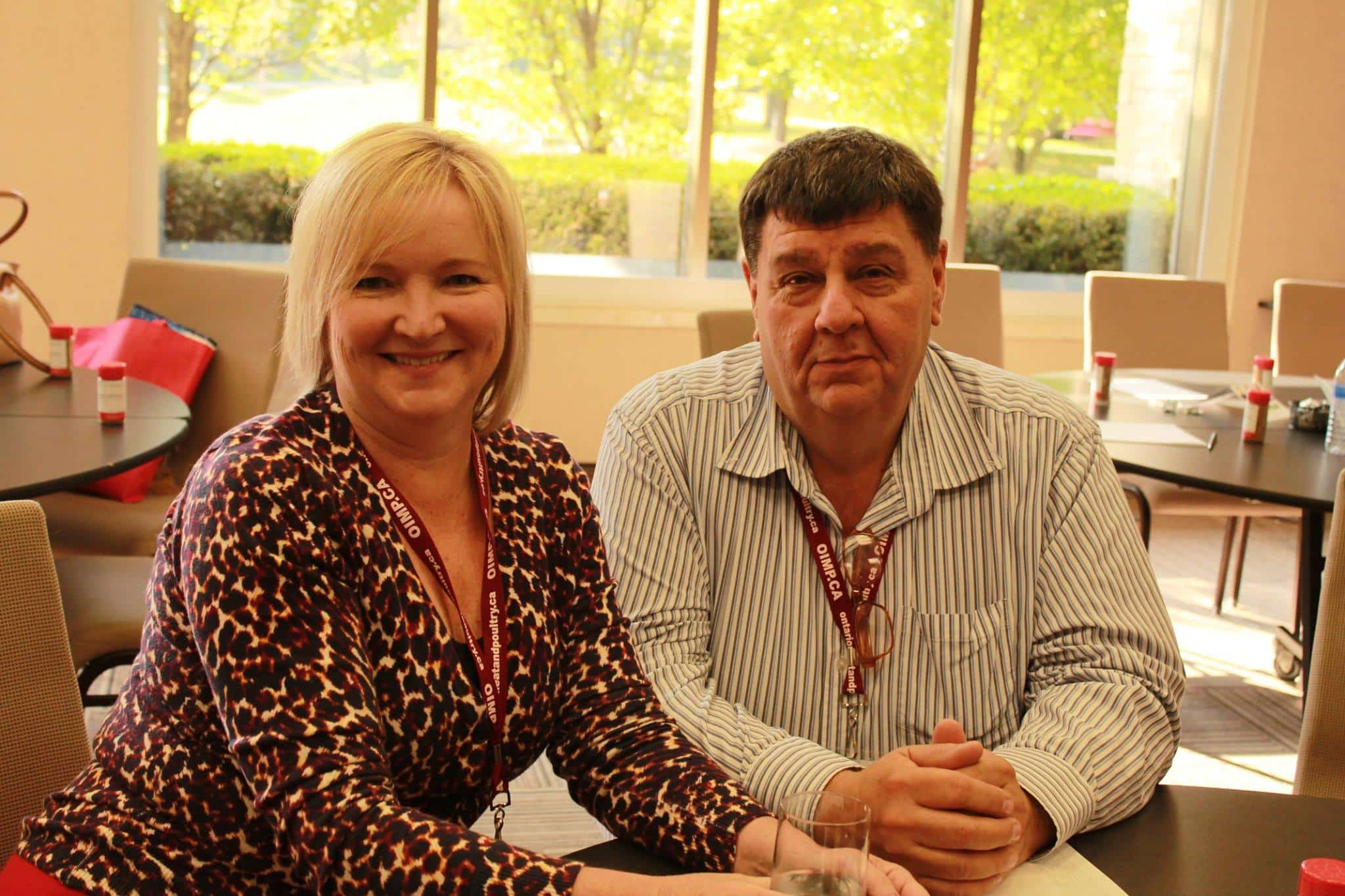 Cindy and Bruce