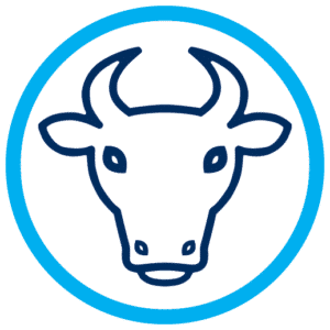 Bay Meats Cow Icon