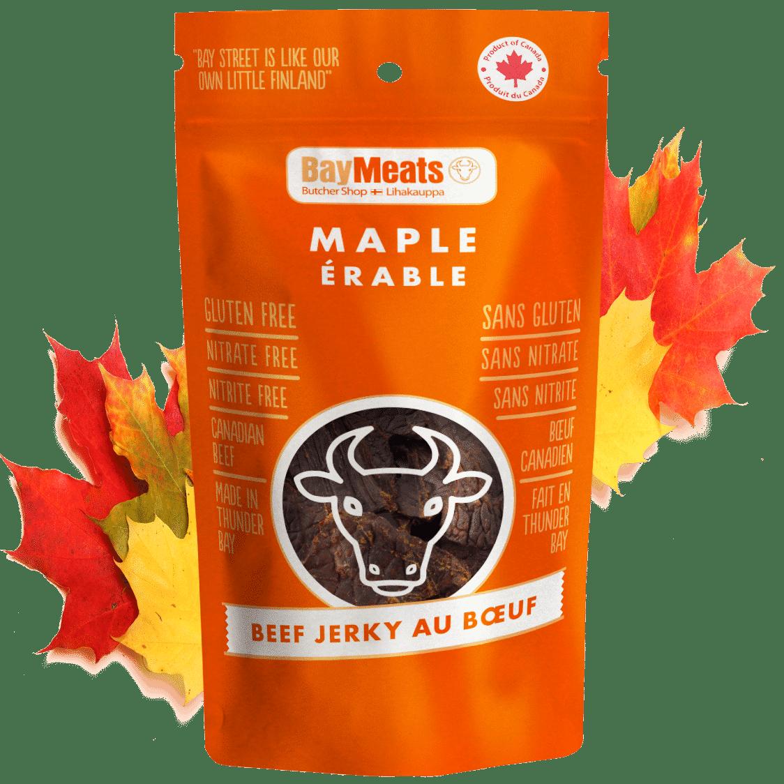 Maple Beef Jerky